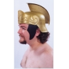 Roman Helmet Gold With Gold Crest